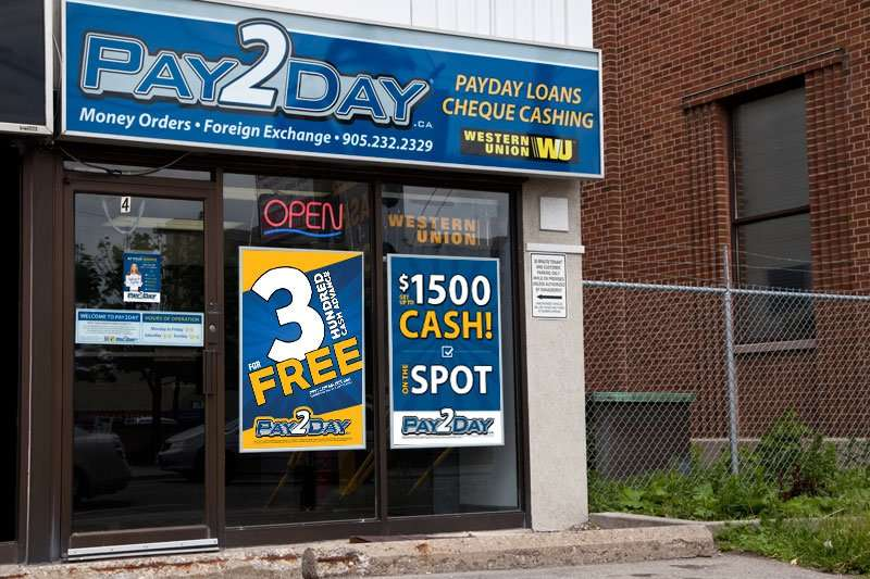 Chesapeake payday loan locations