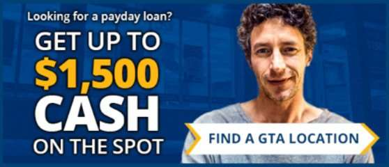find a pay2day payday location in the Greater Toronto area