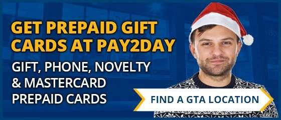 prepaid gift cards